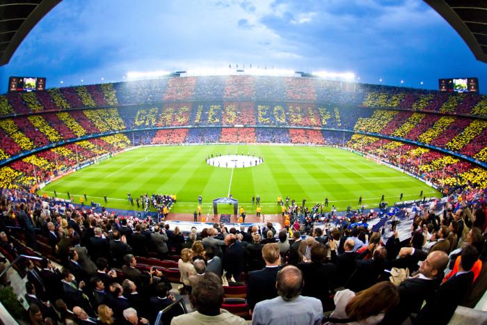 Fotbollsresor och fotbollsbiljetter till Spanien och Spanska ligan
