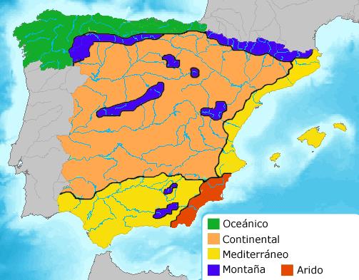 Klimat I Spanien Om Spanien