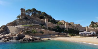 Vandringsresa Barcelona och Costa Brava, Tossa de Mar