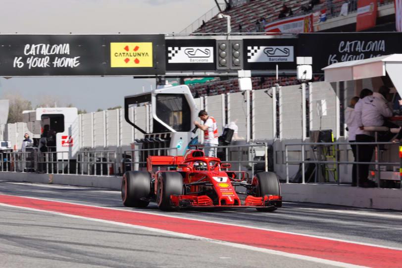 Formel 1 på Circuit de Barcelona-Catalunya