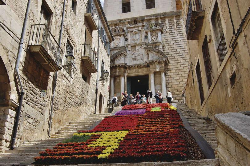 Girona blomsterfestival den 12 - 20 maj