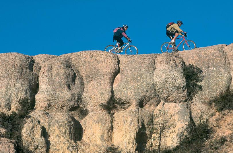 Mountainbikeleder i Alt Pirineus nationalpark